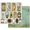 Stamperia - Set of scrapbooking papers - Alchemy