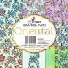 Decorer - Set of scrapbooking papers - Oriental