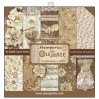 Zestaw papierów do tworzenia kartek i scrapbookingu - Stamperia - Old Lace