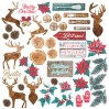 Scrapbooking paper - Fabrika Decoru - Christmas fairytales - Pictures for cutting