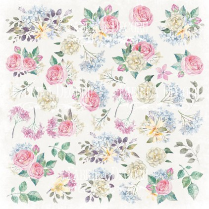 Scrapbooking paper - Fabrika Decoru - Shabby Garden - Pictures for cutting