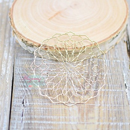 Miszmasz Papierowy - cardboard element -lace napkin