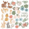 Scrapbooking paper - Fabrika Decoru - Baby and mama - Pictures for cutting