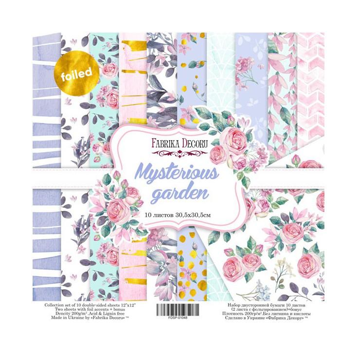 Set of scrapbooking papers - Fabrika Decoru - Mysterious Garden