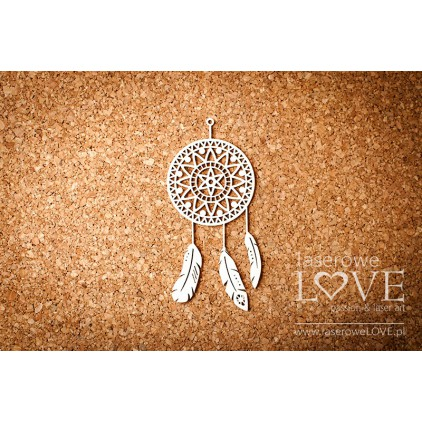 Laser LOVE - dreamcatcher- Indiana - 1 pcs.