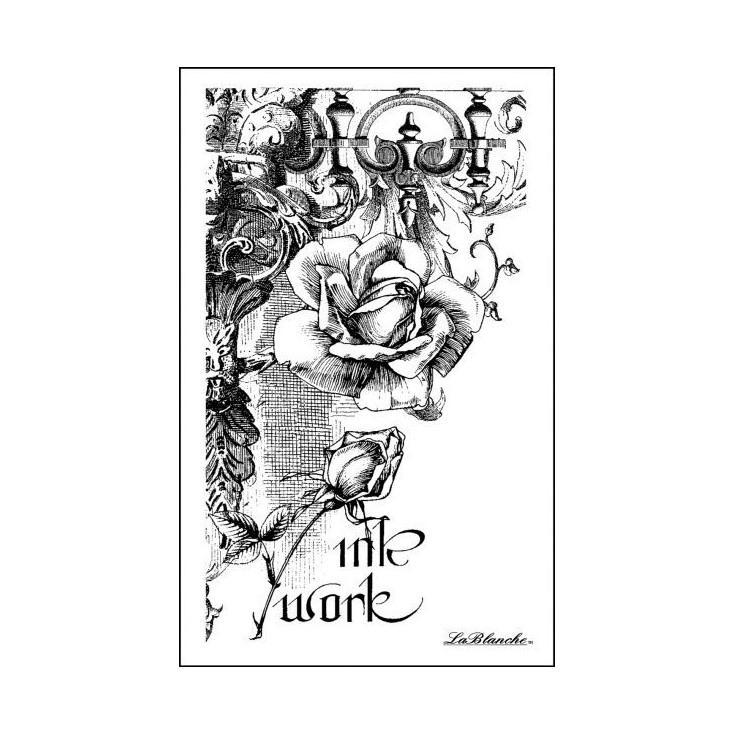 Przygotuj piękne obrazki w swoim albumie - Stempel / pieczątka - LaBlanche - Romantic Collage