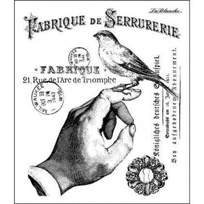 Stempel / pieczątka - LaBlanche - A Bird in the Hand