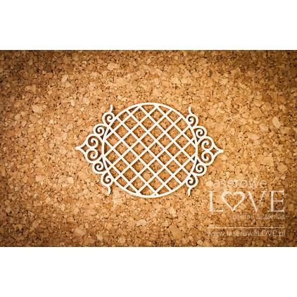 Laser LOVE - cardboard round frame Paroles
