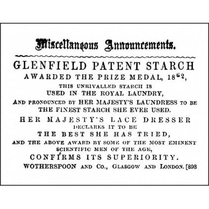 Silicon stamp - LaBlanche - Miscellaneous Announcement