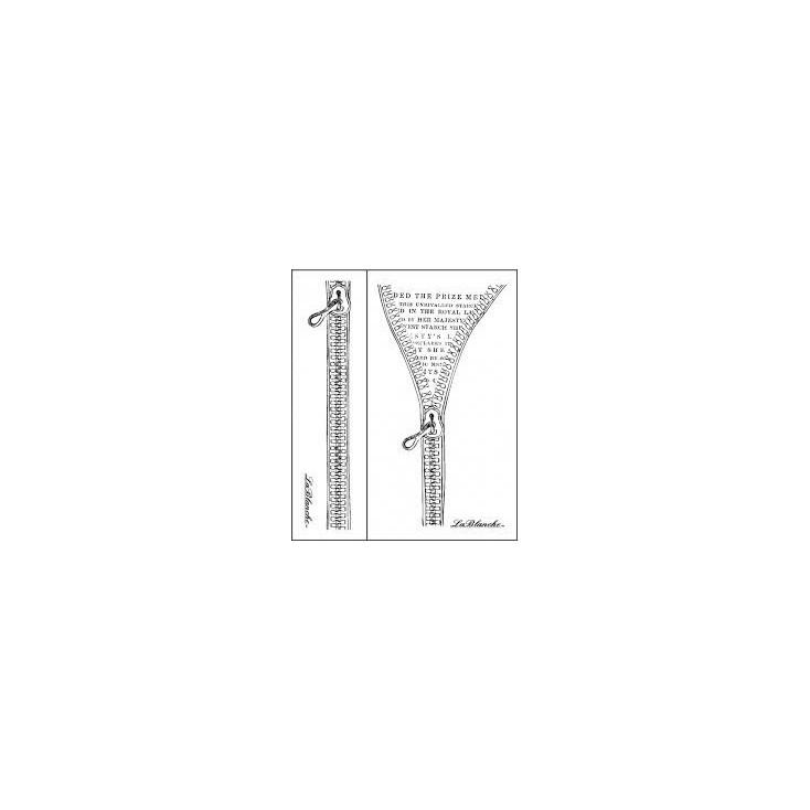 Stempel / pieczątka - LaBlanche - Zippers (2 stemple)