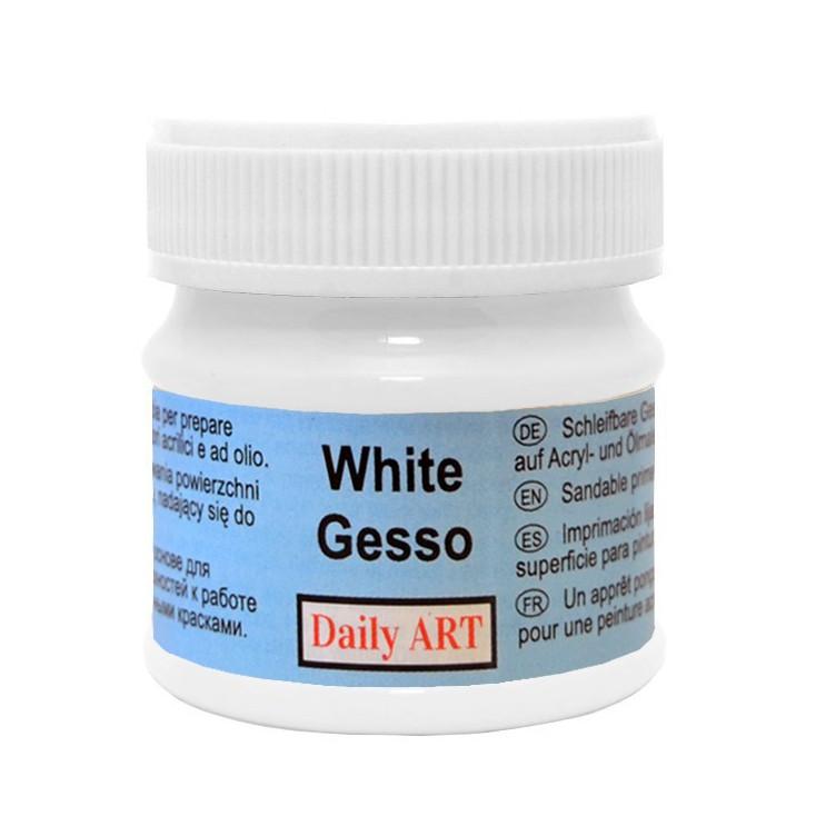 Whit gesso acrylic medium - Daily Art - 50ml