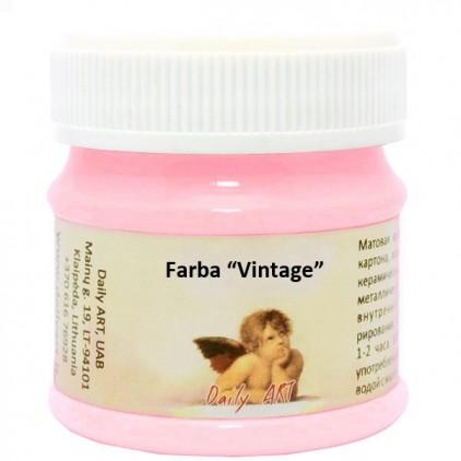 Farba kredowa vintage - Daily Art - sorbet truskawkowy - 50ml