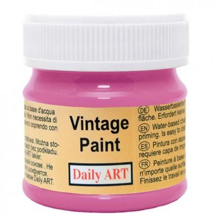 Farba kredowa vintage - Daily Art - rubinowa - 50ml