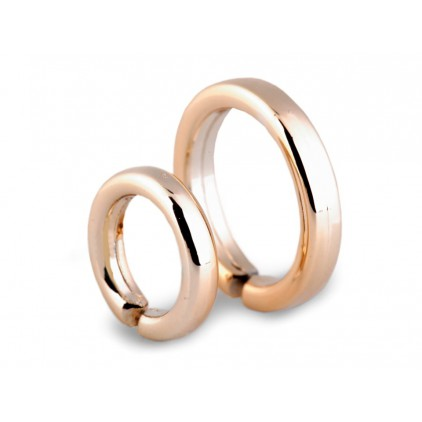 Mini wedding ring - pair - gold - 02