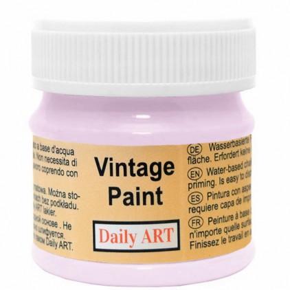 Farba kredowa vintage - Daily Art - pastelowy fiolet - 50ml