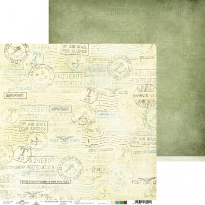 Scrapbooking paper - Craft O Clock - Adventure Awaits - 02