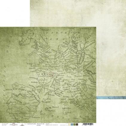 Scrapbooking paper - Craft O Clock - Adventure Awaits - 04