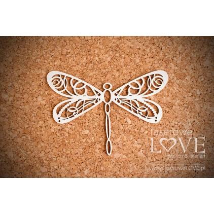 Cardboard dragonfly - LA16071405 Laserowe LOVE