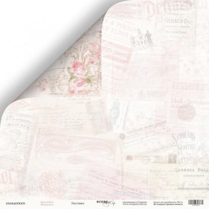 Papier do tworzenia kartek i scrapbookingu - Scrap Mir - Piękne dni - Listeczki