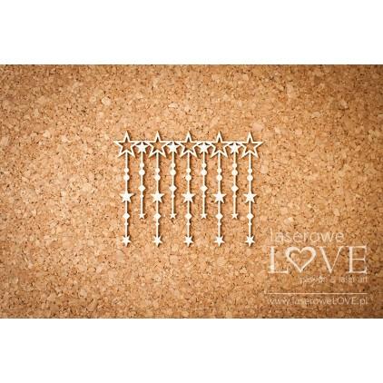 Tekturka sznur gwiazd Le Astre -LA16081204- Laserowe LOVE