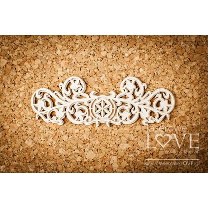 Laserowe LOVE - tekturka ornament góralski z kwiatami - Tatra life