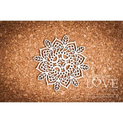 Laser LOVE - cardboard  rosette Ranya Indiana