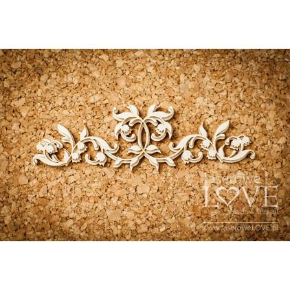 Tekturka ornament - konwalie - Baby lily - LA171133 - Laserowe LOVE