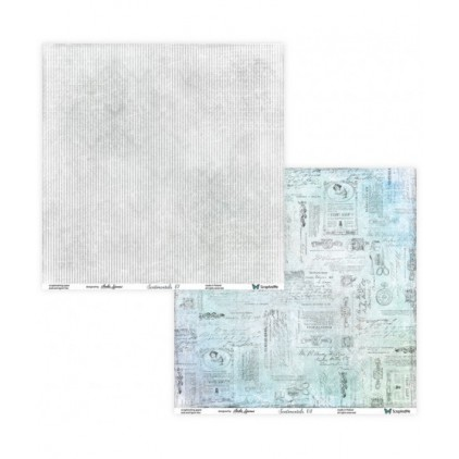 Set of scrapbooking papers - ScrapAndMe -Sentimentals 07/08