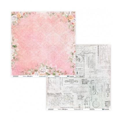 Papier do tworzenia kartek i scrapbookingu - ScrapAndMe - Sentimentals 01/02