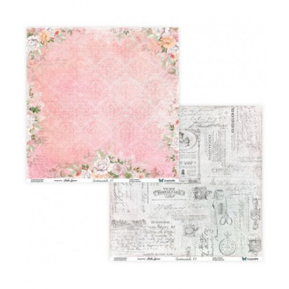 Set of scrapbooking papers - ScrapAndMe -Sentimentals 01/02