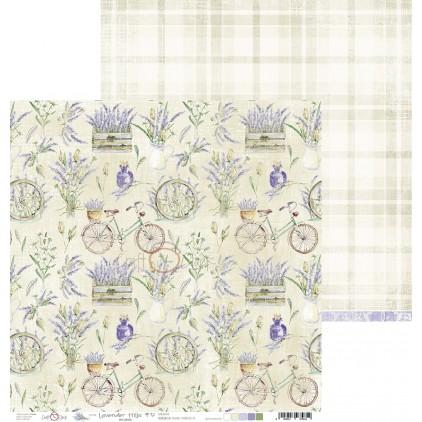 Papier do tworzenia kartek i scrapbookingu - Craft O Clock - Lavender Hills - 05