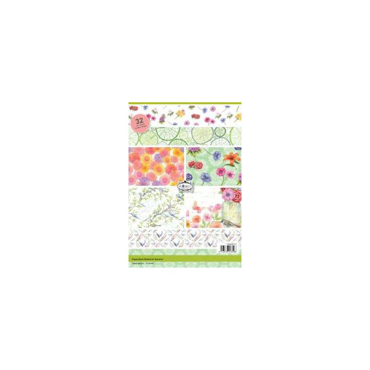 Pad of scrapbooking papers - Botanical Summer