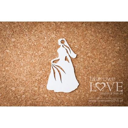 Laser LOVE - cardboard Bride - Stare Miasto