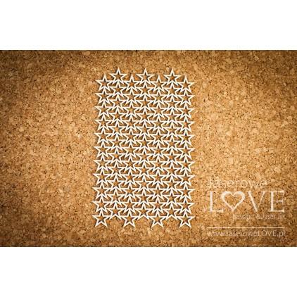Tekturka Gwiazdki - tło Le Astre - LA16081207 - Laserowe LOVE