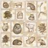 Papier do scrapbookingu - UHK Gallery - Terra Incognita - Arboreous