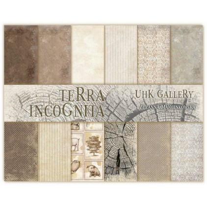 UHK Gallery - Terra Incognita - Set of scrapbooking papers