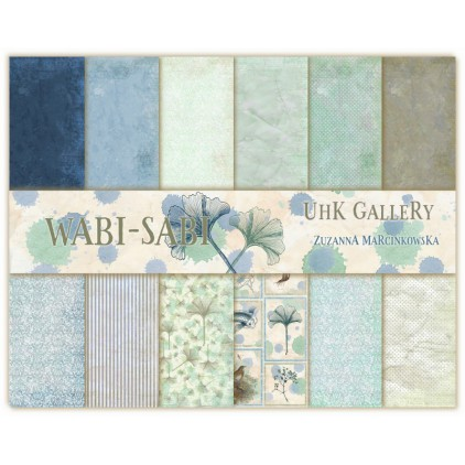 UHK Gallery - Wabi-Sabi - Set of scrapbooking papers