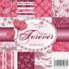 Wild Rose Studio - Pad of scrapbooking papers - Always and Forever