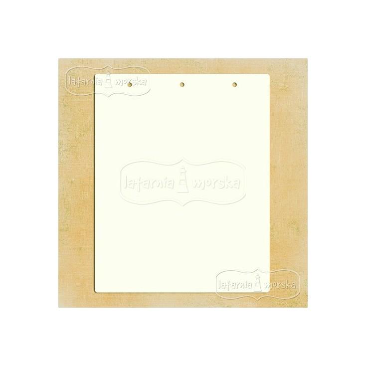 Latarnia Morska - Album base rectangular with holes