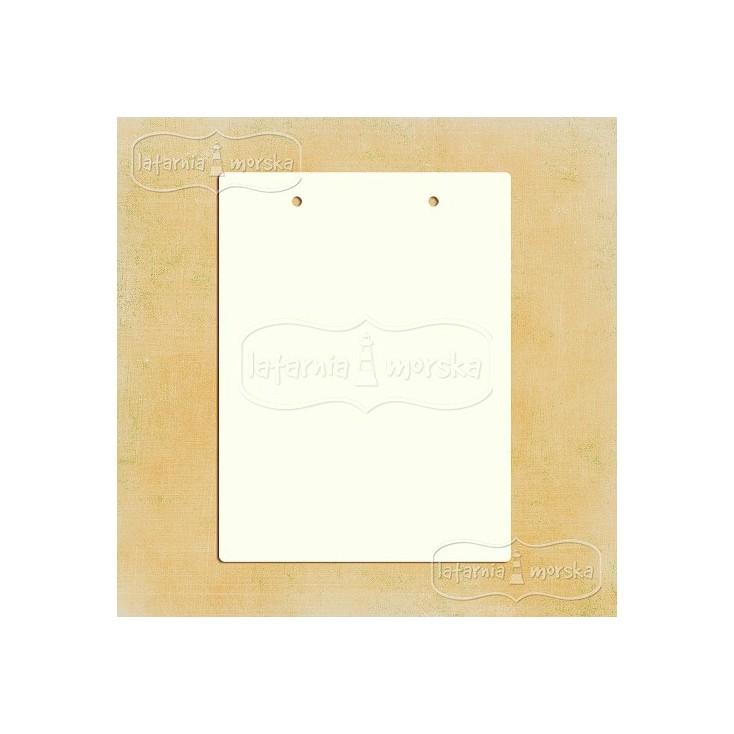 Latarnia Morska - Baza albumowa prostokątna z dziurkami