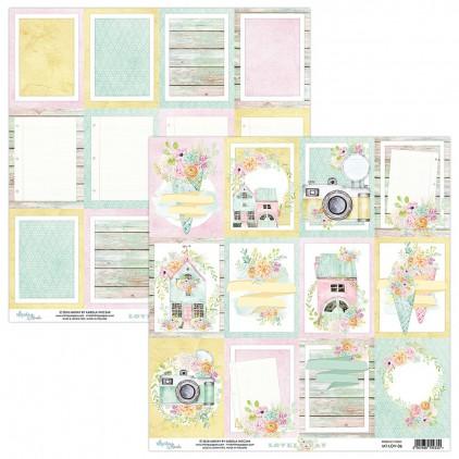 Papier kwiatowy - Papier do scrapbookingu - Mintay Papers -Lovely Day 06