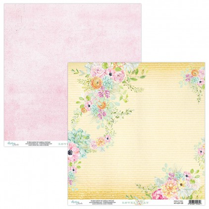 Papier kwiatowy - Papier do scrapbookingu - Mintay Papers -Lovely Day 05