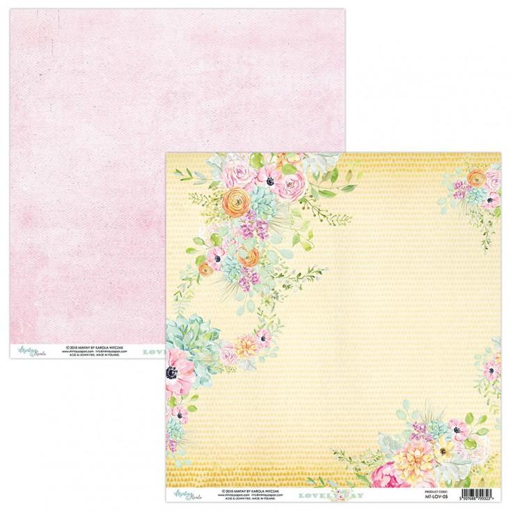 Papier kwiatowy - Papier do scrapbookingu - Mintay Papers -Lovely Day 05