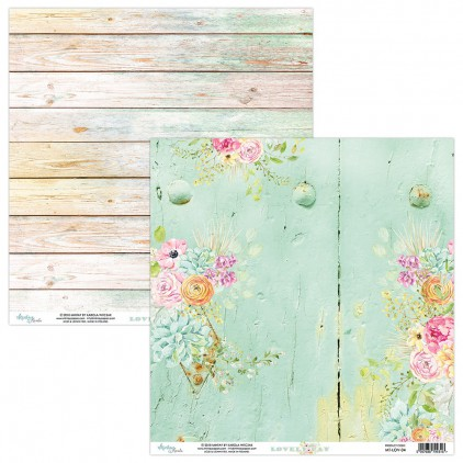 Papier kwiatowy - Papier do scrapbookingu - Mintay Papers -Lovely Day 04