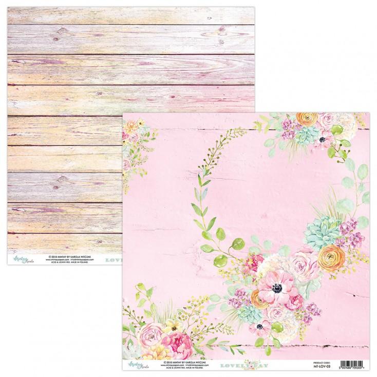 Papier kwiatowy - Papier do scrapbookingu - Mintay Papers -Lovely Day 03