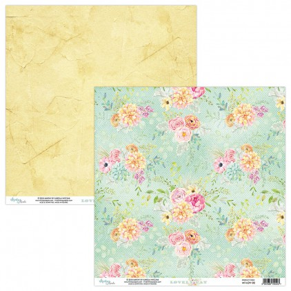 Scrapbooking paper - Mintay Papers - -Lovely Day 02