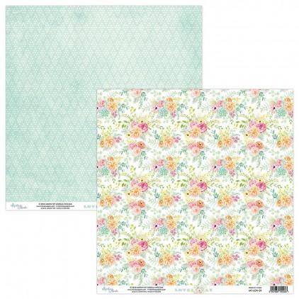 Papier kwiatowy - Papier do scrapbookingu - Mintay Papers -Lovely Day 01