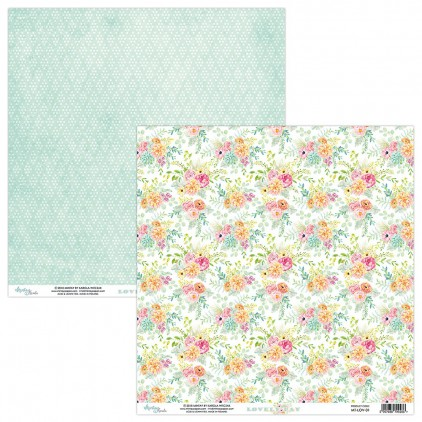 Scrapbooking paper - Mintay Papers - -Lovely Day 01