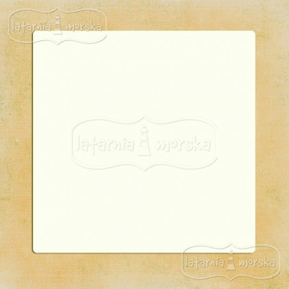 Latarnia Morska - Album base square 20x20 cm