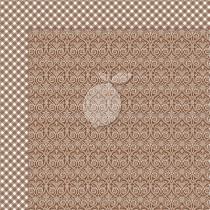 Dwustronny papier do scrapbookingu - Yuletide 06